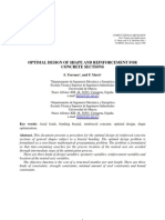 Optimal Design of Shape and Reinforcement for Concrete Sections-Torrano 1998-CIMNE