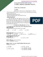Noi Dung Sgk Toan 9 Đại số và Hình Học