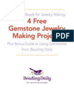4 Free Gemstone Jewelry Making Projects