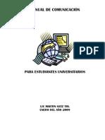 Manual Comunicacion Estudiantes Universitarios