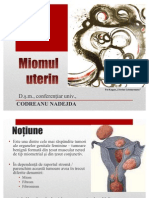 Miomul uterin