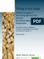 Filling in the Gaps—Critical Linkages in Promoting African Food Security