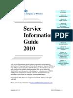 PSNA 2010 Service Information Guide 4-1-2010