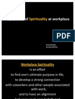 Workplace Spirituality Edited