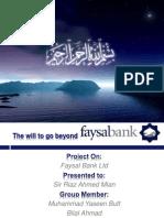 Faysal Bank Ppt