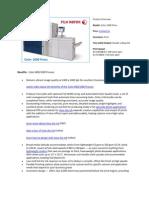Report Xerox C1000