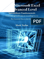 Learn Microsoft Excel at Advanced Level - Spreadsheet Fundamentals
