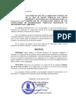 Lista definitiva de admitidos y excluidos CAP Castilla y León - Primera convocatoria 2012