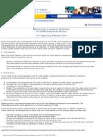 OSHA Crane Inspection Guidelines