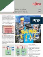 F01 - Fujitsu FM3 TwinMAC Ethernet MCUs