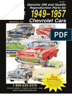 1949 - 1957 Chevrolet Car