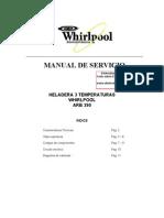 ARB 390 Para Revisar Neveras Whirlpool