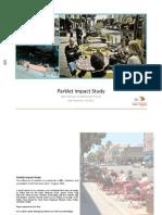 Parklet Impact Study