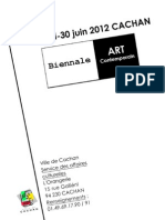 Dossier d'inscription Biennale