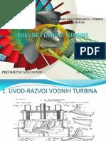 Cijevne i Deriaz Turbine, bulb turbine,straflo turbine, diagonal turbine, deriaz turbine, kaplan turbine