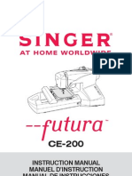 Singer CE-200 Manual