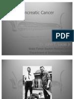 Pancreatic Cancer - JTL 2012