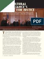 Multicultural Bar Alliance's Pursuit for Justice