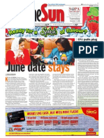 TheSun 2008-11-11 Page01 June Date Stays