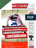 Unidad y Lucha, nº 291, diciembre 2011