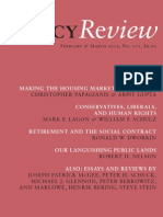 Policy Review - February & March 2012, No. 171