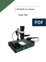 Irda-welder User Manual T-862