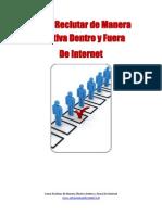 Como Reclutar Efectivamente Dentro y Fuera de Internet de Antoniomendezonline