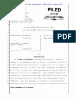 Chris Warren Plea Agreement