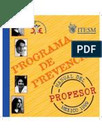 Manual Prevencion Profesores 1999