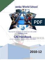 CAS Handbook G D Goenka World School 2010-12