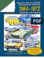 1964 - 1972 Chevelle / El Camino