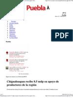 02-01-2012 Chignahuapan recibe 8.5 mdp en apoyo de productores de la región