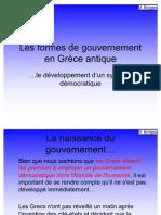 f20701239 Les Formes de Gouvernement en Gr Ce Antique