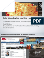 Data Visualization in the Humanities