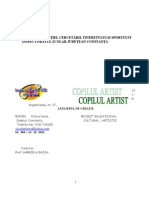 COPILUL ARTIST Proiect Educational