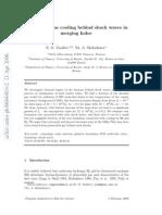 E. O. Vasiliev and Yu. A. Shchekinov- Primordial gas cooling behind shock waves in merging halos