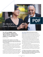 Tellabs Insight Magazine - 4G Mobile's Core Difference