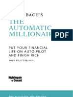 The Automatic Millionaire Workbook Put Your Financial Life on Auto Pilot and Finish Rich-Mantesh