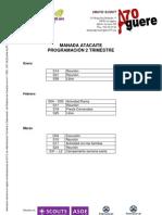 Manada - Planning Del 2er Trimestres 2011 - 2012