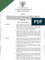 Peraturan KPU No. 36 Tahun 2008