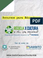 Guía de Educación Ambiental RECICLA X CULTURA
