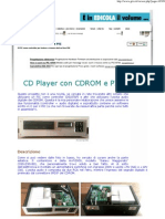 CD Player Con Cdrom e Pic Grix