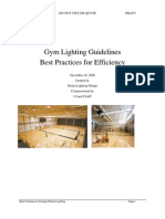 Gym Lighting Guidelines Rev 1