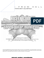 Shred Guitar Manifesto