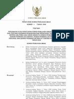 Peraturan KPU No. 51 Tahun 2008