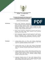 Peraturan KPU No. 02 Tahun 2009