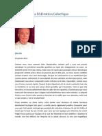 Message de La Fédération Galactique - Mike Quinsey - SaLuSa - 25 janvier 2012