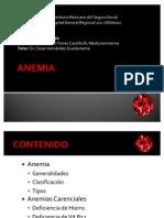 ANEMIAS CARENCIALES
