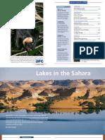 Lakes in the Sahara