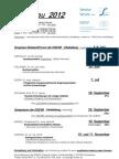 Seminar Termine 2012 PDF